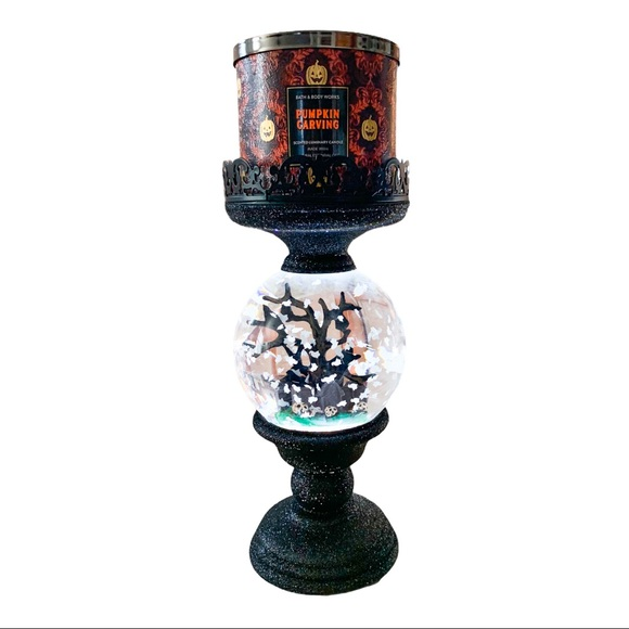 Bath&Body Works 3 Wick Halloween Candle Holder